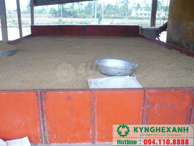 Máy sấy nông sản vĩ ngang 4 tấn
