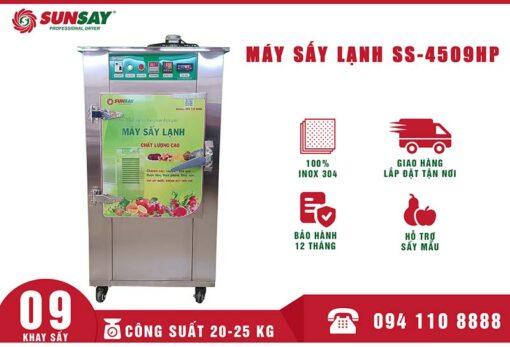 Máy sấy lạnh thực phẩm mini 9 khay