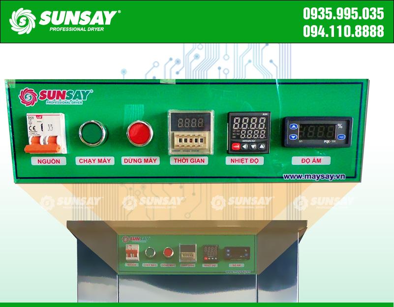 Bảng điều khiển Máy sấy lạnh thực phẩm