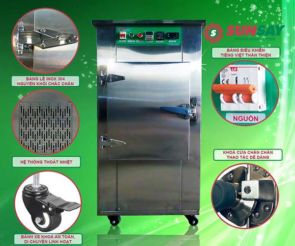 Máy sấy lạnh chế biến nông sản