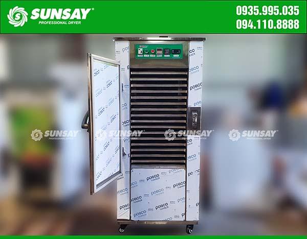 Máy sấy lạnh 16 khay sấy thực phẩm