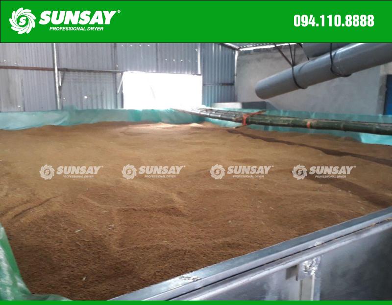Máy sấy nông sản sấy lúa