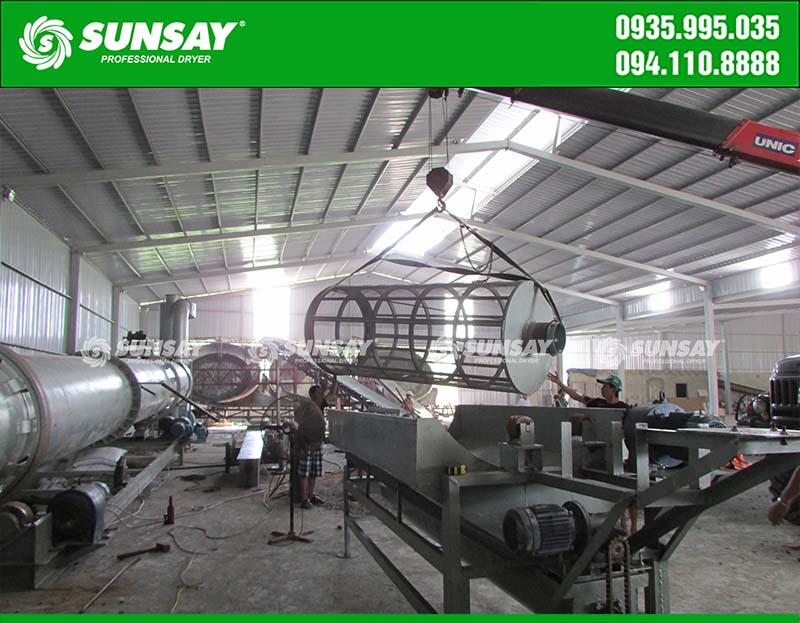 Lắp đặt nhà máy sản xuất phân bán NPK Sơn La