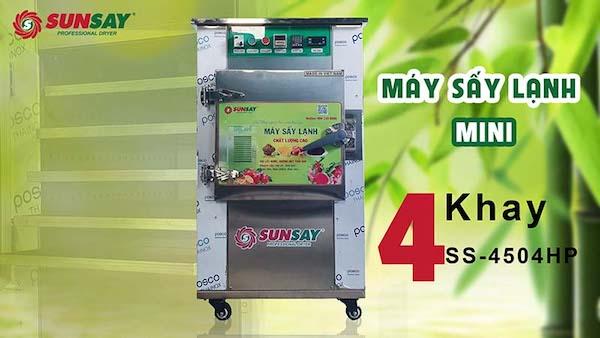 Máy sấy lạnh Sunsay được ưa chuộng sử dụng để sấy thực phẩm